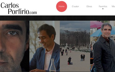 Novo website<br>do autor